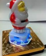 大容量礼品移动电源 磁悬浮圣诞老人充电宝 通用型应急充电器;