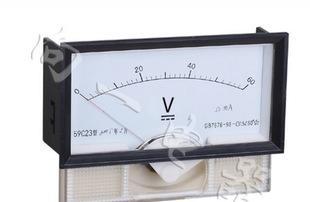 производственно - 59C23-V электрик электрические приборы для измерения напряжения постоянного тока таблица / установки знака Таблица 128*68 указатель