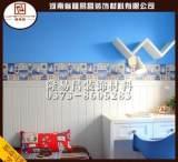 新品特惠 厂家直销pvc欧式护墙板 防水防潮墙裙板 生态木木塑板;