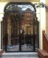 庭院 玻璃大门双开门/欧式铁艺大门小区大门豪华别墅大门厂区;