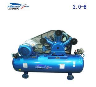 上海捷豹空压机2.0-8全铜芯空压机15KW空气压缩机工业空气压缩机