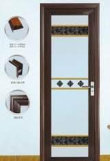 ZB-2101钛镁铝合金门浴室门平开门卫生间门室内门金属门;