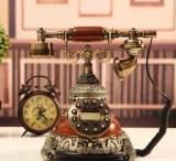 龙游天下复古怀旧欧式电话机 民国古董电话座机 固定电话 KY903;