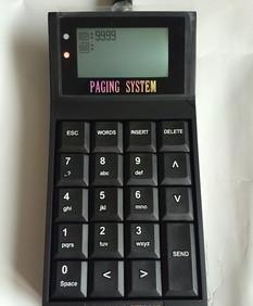 批发取餐器键盘发射器 无线叫号控制中心 可呼叫BB机和手表;