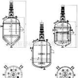 胶水反应釜批发 不锈钢化工机械设备 实验室反应釜 电加热;