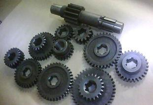 The supply of agricultural machinery gear box gear gear cotton straw