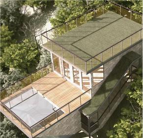 活动房 集成式环保房屋 木屋 钢结构别墅 酒店会所 景区住房配套