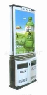 廠家專業定制公共環衛設施 LED廣告高檔垃圾箱;