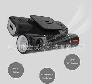 جميع سجلات البرنامج F20 تشغيل مسجل هد كاميرا مزدوجة مسجل السيارة تدور