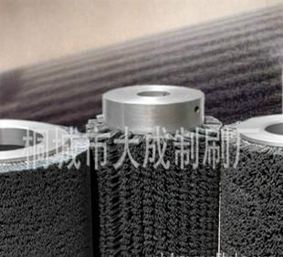 供給工業機械研磨ブラシ.ロールをこすって、ローラーブラシ丸鋼