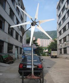 直销2kw风力发电机 2000W小型家用风能设备 最大功率可达2500W;