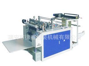 SJ-C600 type electronic control heat sealing cold cutting bag machine heat seal cold cut plastic bag making machine