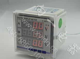 供应XY194U-3K4数字式电压测量仪器仪表-V 交流伏特表 80*80;