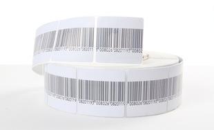 嘉能超市防盗软标签 化妆品EAS报警系统 港货商品电子磁贴报警