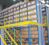 厂家专业生产仓储设备 厂房货架 阁楼式货架可定做安装设计;