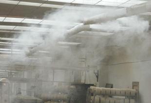车站加油站高压喷雾除尘降温防静电设备;