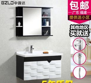 广东佛山新款实木洗手浴室柜