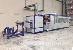 Multi station positive pressure LX3021H-F hot plastic molding machine high-speed blister machine