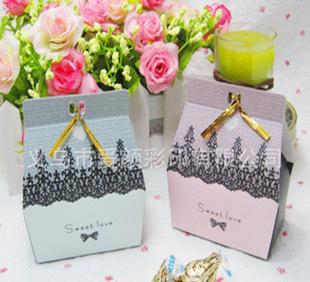 Customizable white cardboard packaging 230GSM offset printing packing box candy candy box style rich disguising
