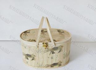 カニの印紙の目籠のカニの靑の毛ガニの水産の包装のカゴの水産包装製品の包装