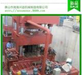 兴迪锻压1200吨挤压成型机、液压工厂现场地坑实验机器;