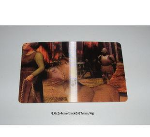 银行防伪卡烫印 PVC烫印精美卡加工 游戏卡印刷 礼品卡防伪;