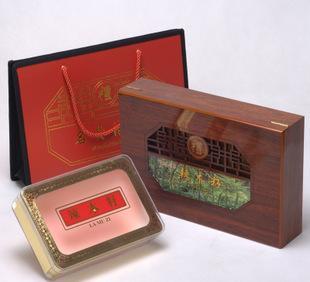 Packing box wood Moringa Moringa gift packaging wood general Moringa seed health products