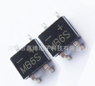 特价供应贴片整流器件整流桥堆 MB6S SOP4 SEP品牌;