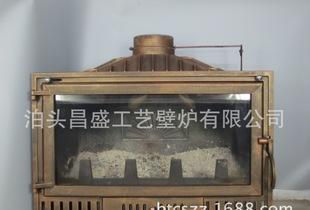 「新型」組み込み鋳鉄多燃料ストーブ/暖炉CS-X20 BR 0 . 9メートルを旧銅色