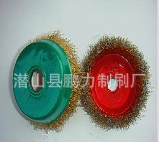 生産ひゃくステンレスワイヤーブラシ125めっき銅線椀型轮180碗形除染さび除去磨きバフ