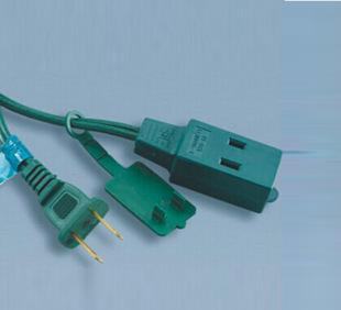 Three level power plug with 125V10A supply American Standard product suffix switching power line