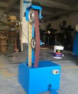 供应骐骥牌QJ-008 2100*50mm 靠轮立式砂带机抛光打磨机电动工具;