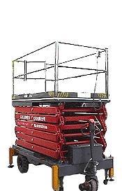 优供 高升程大台面升降平台车 高空作业车 移动式升降平台