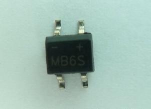 供应贴片桥堆MB6S灯饰常用整流器件;