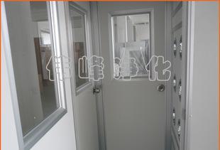 吹く風にシングル単カラー鋼板シャワー室FLS-1A(三門)QSぬれる不動(風風吹く機)シャワー室