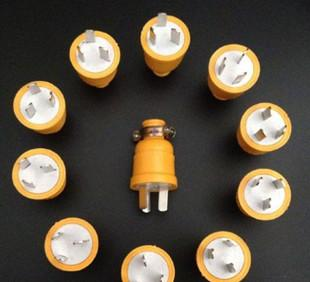 Wholesale explosion falling explosion-proof 10A diode plug plug two or three plug plug pin three copper rod