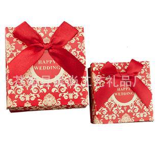 手提式礼品盒的折法步骤图解