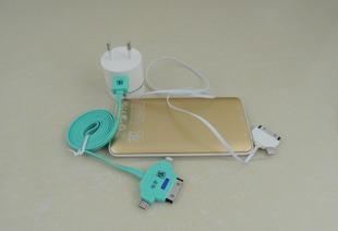 デジタル電子部品の3合旅行充電器、汎用携帯電話コンセント充電器