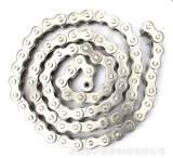 白钢链条 可加工定制非机动车配件链条,厂家直销;