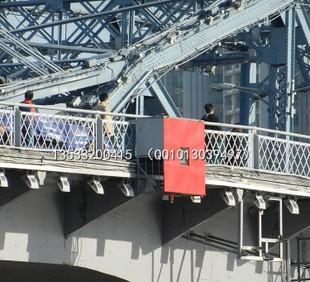 8航道桥梁助航标志 双向通航孔中央标志 LED标志牌桥涵标桥柱灯