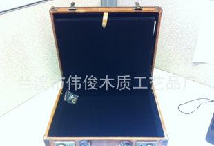The leather box manufacturers wholesale upscale new professional leather box brown tea packaging leather box