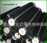 厂家批承接 滚筒式异形毛刷 耐高温除油毛刷加工