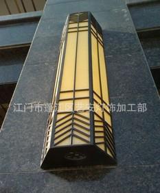 厂家供应优质户外壁灯 仿云石灯具 高档园林照明器材;