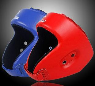 Kang Rui professional boxing head protective helmet red blue KS511 one generation