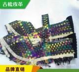 暢銷鞋面編織、配色松緊帶編織休閑型鞋面 手工編織鞋面 帶料加工;