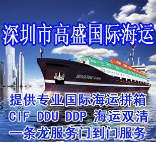 广东国际海运服务深圳、广州国际海运代理公司海运货代拼箱 散货