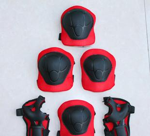 Factory direct children riding sports gear gear roller skating for six piece hand kneecaps