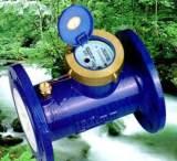 宁波宁生水表 大口径法兰水表 水平螺翼湿式水表 DN125 现货供应;