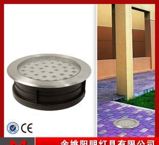 6506 الصمام عالية الطاقة مصباح للماء الفولاذ المقاوم للصدأ عالية الجودة دفن دفن أضواء تحت الماء 45W كري كري رقاقة