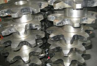 Supply customized processing of various non-standard double pitch conveyor chain sprocket